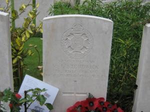 Rfn VJ Strudwick(aged 15),Essex Farm Cemetery